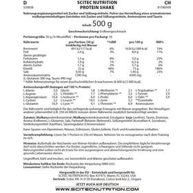 SCITEC Boisson protéinée 500g, Strawberry